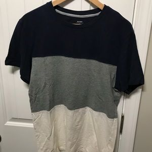 NWOT Old Navy men's striped shirt size M
